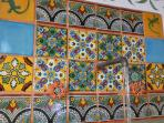 Casita studio Talavera work
