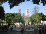 Volladolid Church and Square