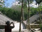 Poc' ti poc field at Coba Ruins