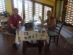 A quick lunch before heading out to San Gimignano, medieval skyscraper city, just 5 miles away.....