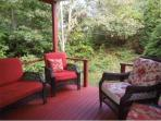 relaxing outdoor porch