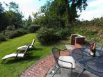 Garden and Patio Area