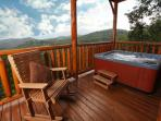 His Amazing Grace, 2BR,  3 Private Covered Decks, Loft Game Room, Sleeps 12
