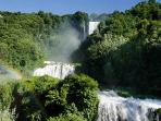 The Cascata delle Marmore (25 miles): the tallest man-made waterfall in the world!