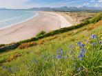 Harlech Beach - one of many beautiful, sandy beaches nearby