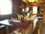 DINING ROOM AND KITCHEN/ JANTAR E COZINHA