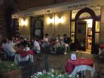 Grand Cafe at night