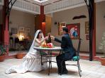 Wedding in The Courtyard