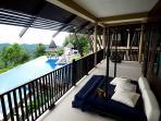 part of Master Bedroom Suite terrace