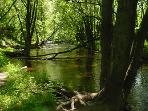 Oconto River Favorite Fishing Hole - Photo by Dick Doeren