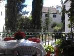 balcony - your living room in the open - offers a great view of the old town