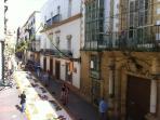 Un entorno histórico privilegiado en pleno centro de El Puerto