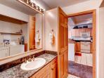 Corral at Breckenridge Guest Bathroom Breckenridge Lodging