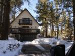Wintertime view of the All Pine Inn