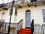 Grade II listed house in Central Kemp Town Location