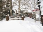With a free shuttle that will take you to the lifts and Main Street Breckenridge.