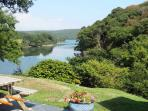 Magnificent elevated view of Mawgan Creek. See yourself sitting here!