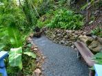 Meditation Garden on our Property