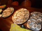 November, oysters by the dozens!