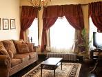 French Villa Living Room