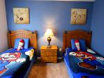 Boy's double twin room