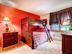 Tyra Streamside Bunk Bedroom Breckenridge Lodging