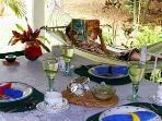 Breakfast on Veranda