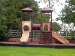 The Kids Will Love the Newly Built Playground!