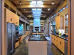 Full kitchen, room for many cooks!