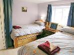 Sunny twin room