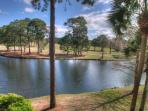 Patio View of Lake
