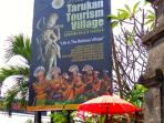 Entrance to the village of Tarukan Mas, Ubud