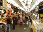 Mahane Yehuda Market 3 mins away
