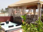 Jacuzzi du Riad Dar Khmissa Marrakech