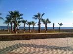 Torre Del Mar Beach in January