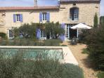 Superbe ferme de Provence de 4 chambres, piscine & vie de Village