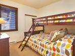 Second Bedroom With A Twin Over Queen Bunk Bed