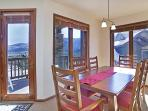 Dining Area With Great Views And A Table That Seats Six