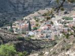 Panoramic view of Kalavasos village