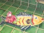 Fun fish platter