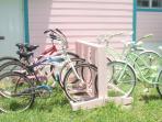 Enjoy a bicycle ride