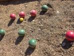 A game of Bocce Ball?