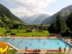 Outdoor pool at Rauris