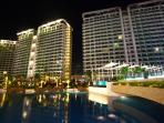The first three towers to have risen at the Azure Urban Resort and another two will soon be ready