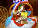 4th of July Welcome Basket