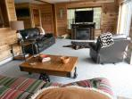 Another view of the HUGE Living room! Eastern views, mountain & lake views !