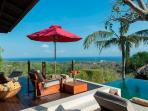 Villa Capung Master Suite Deck