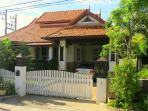 A nice Bali-style house with 3 bedrooms.