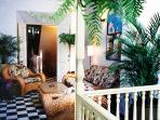 This is the Garden Apartment, on the same floor. Flip Key # 7602246. For 7- 13 persons rent both.