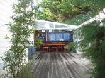 l'Heure Bleue patio